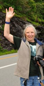 Beverly Slone at Blue Ridge Parkway Photo Shoot. Bob Grytten Photo